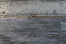 splintering wood