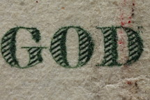 word God on money