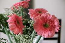 Bouquet of Gerber daisies.
