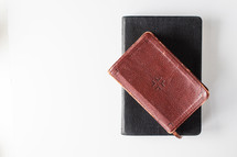 leather Bible and journal