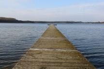 pier over water