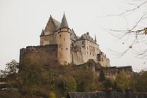 Vianden Castle  Chateau de Vianden Luxembourg