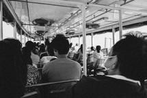 city bus in Thailand