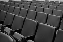 Auditorium seats.