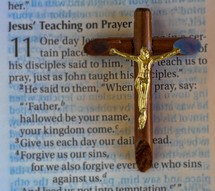 Jesus teaching on Prayer Bible scripture
