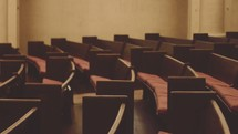 Empty auditorium.