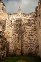 stone wall - fortress