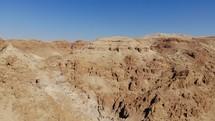 Qumran mountains