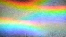 rainbow colors moving in waves.  spectrum, color spectrum, rainbow, refraction, color, colors, move, moving, wave, waves, prism, range of colours, light, sun, sunshine, refractor, prismatic, prismatic color, prismatic colors, spectral color, spectral colors, diffract, diffraction, diffracting, refract, refracting, plate, sheet, metal, waving, sunbeam, sunray, shaft of sunlight, undulation, undulate, undulating, multicolored, bright, luminous, glowing, vibrant, shiny, shining, shine, quick, vibrant, vivid, vital, happy, cheerful, jolly, abstract, abstraction, abstractly, background, immaterial, non-objective, non-representational, blur, yellow, orange, red, purple, blue, turquoise, cyan, pink