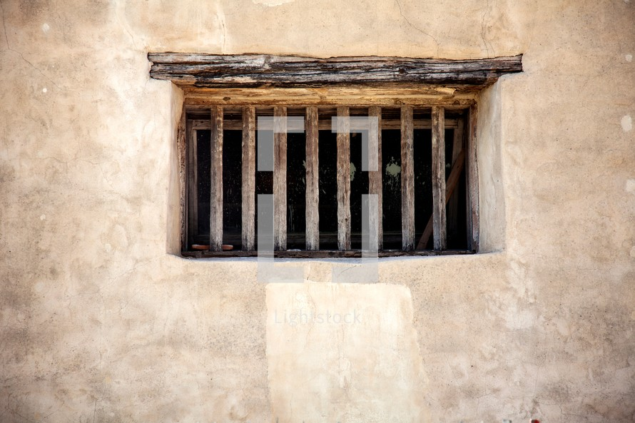 bars on a window