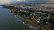 San Juan shoreline