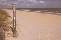 Cape Fear Blvd public beach access