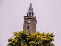 brick steeple