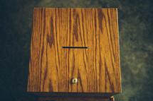 prayer box slot