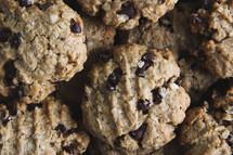 a closeup of cookies