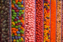 jelly beans in a candy store