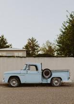 old vintage truck