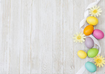 Easter Eggs Spring Background