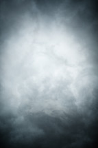 Stormy dark clouds background.