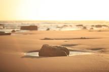 rocks on a beach