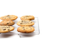 cookies on a baking rack