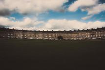 vast walls of a building