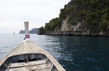 tropical boat