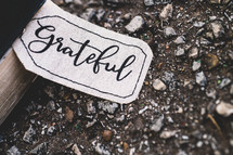 grateful fabric tag