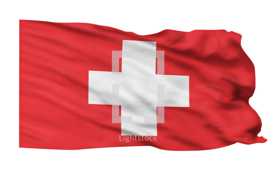 Flag of Switzerland.