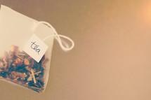homemade tea bag