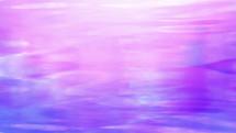 purple reflection on water