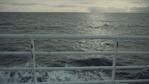 view of water from a ship