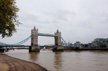 London Bridge over the Thames River