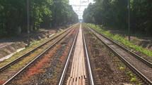 electric rail lines