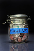 college fund jar