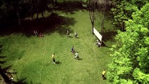 kids playing sports outdoors