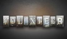 word volunteer