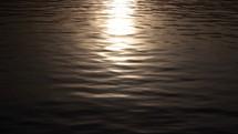 moonlight on calm water