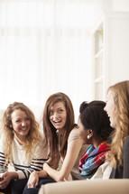 Conversation at a Bible study.