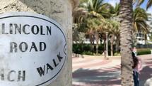Lincoln Road Beach walk
