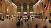 Time-lapse of Grand Central Station