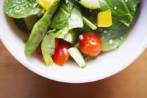 healthy bowl of salad
