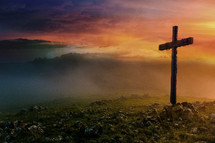 Resurrection: The Cross at Sunrise