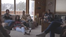 in home youth Bible study group