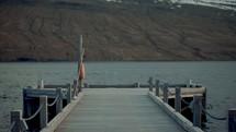 pier over a bay