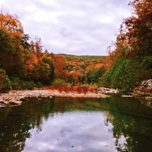 lake at autumn