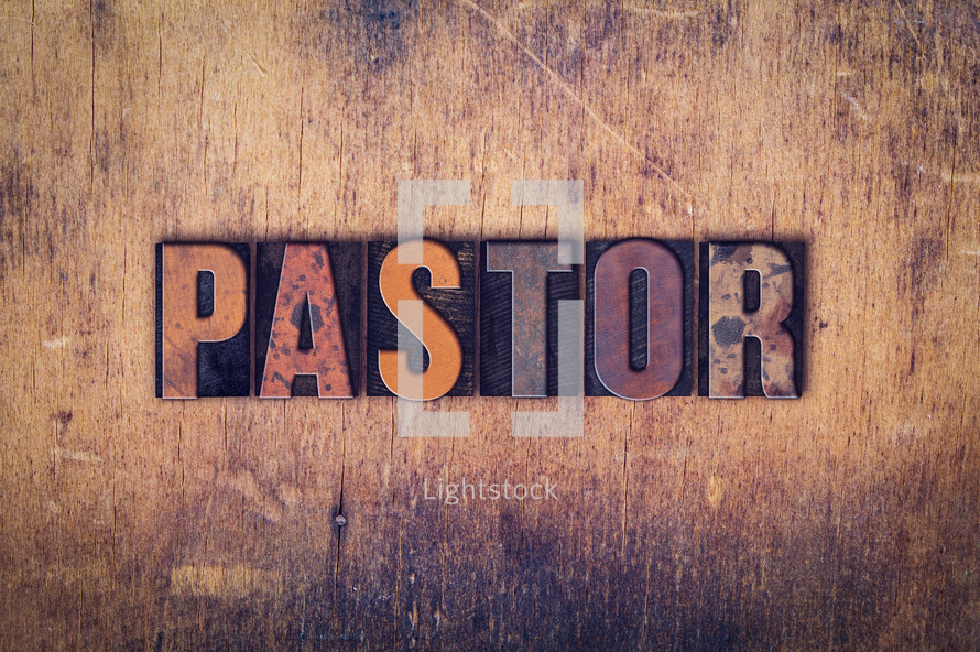 word pastor