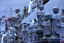 Japanese sculptures