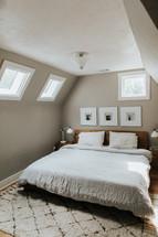 neat bedroom