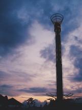 amusement park ride tower